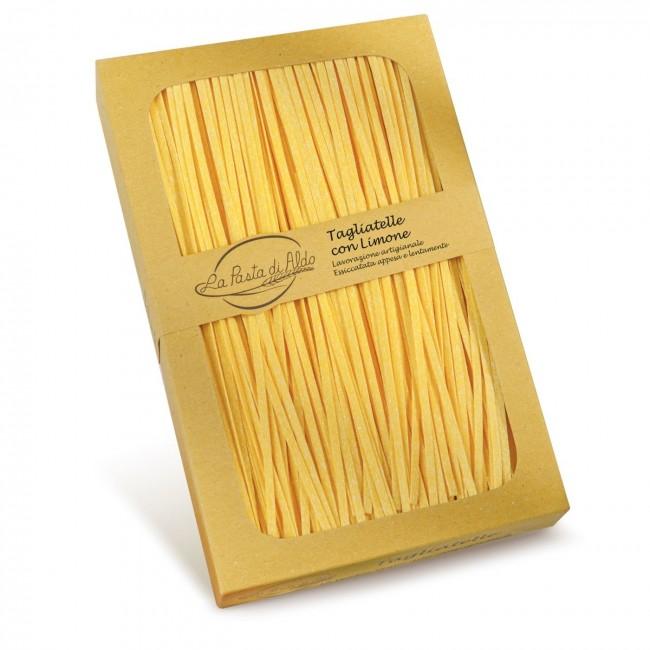 Tagliatelle with lemon