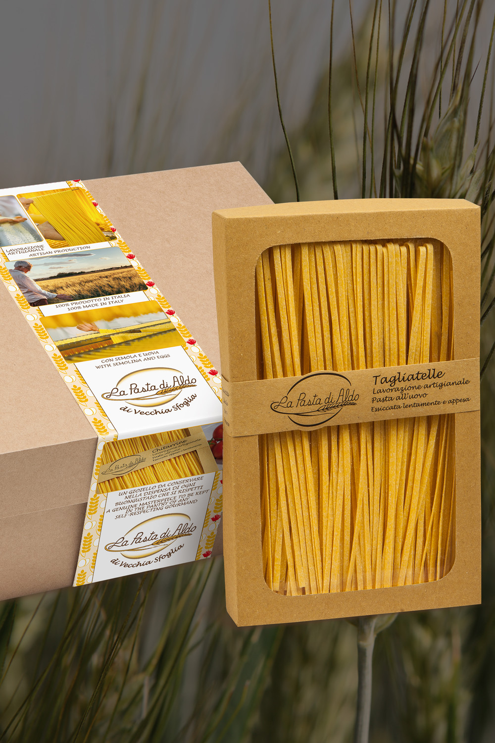 Acquisto on line di pasta all'uovo